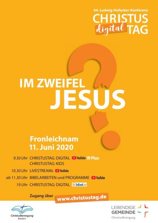 Im Zweifel: Jesus! - Christustag digital